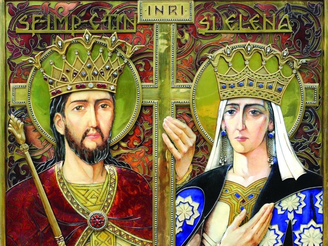 Peste 1,7 milioane de români își sărbătoresc onomastica de Sf. Constantin și Elena